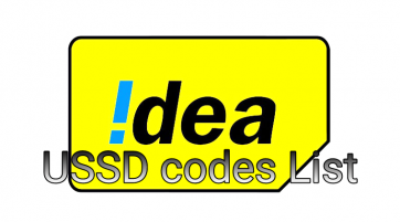 idea ussd codes